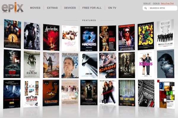 Apple TV to stream EPIX movies