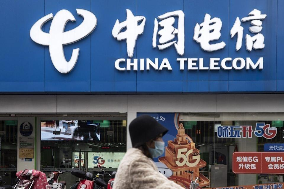 The US claims China Telecom, China Mobile and China Unicom are among companies controlled by the Chinese military. Photo: Bloomberg