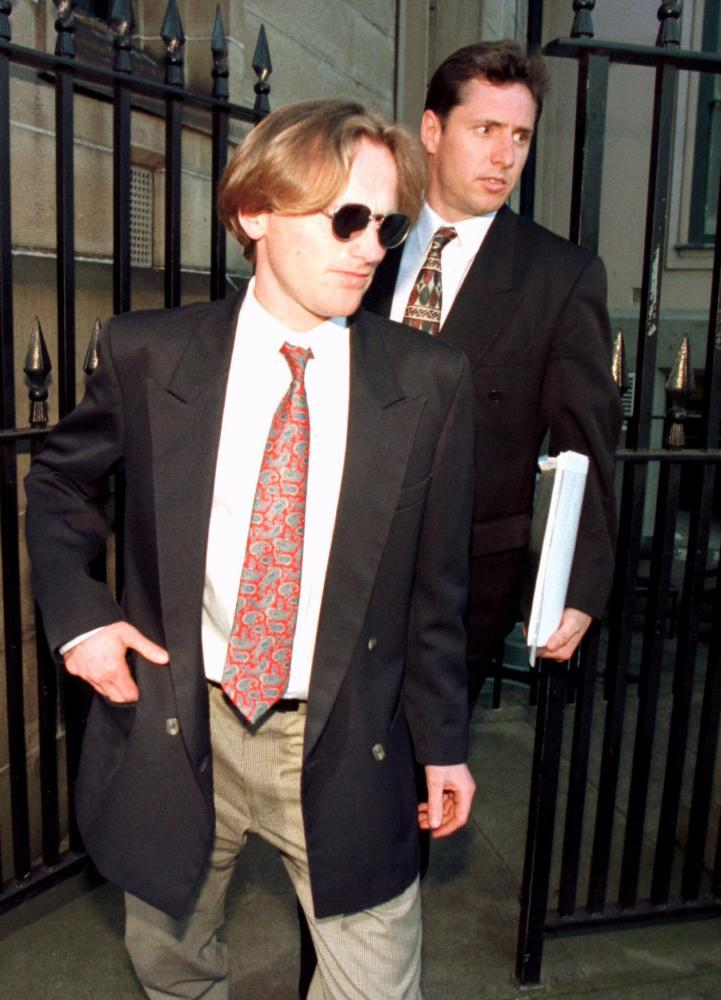 Paul Onions outside court
