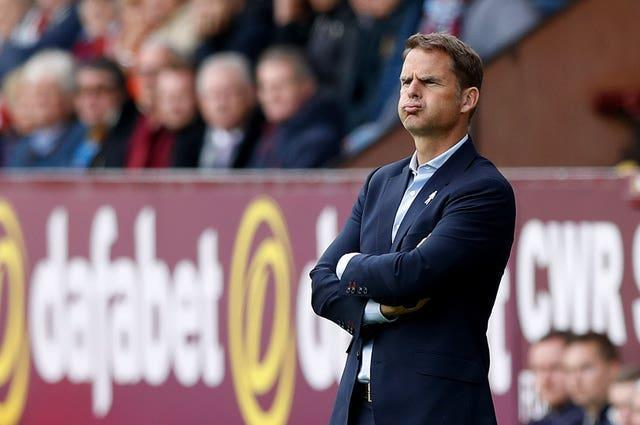 Frank De Boer's reign at Crystal Palace lasted just five games
