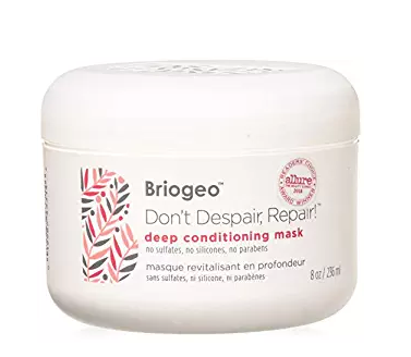 "<h3>Deep Conditioning Hair Mask</h3><p>Take care of your summertime strands with a deep conditioning mask made completely from an intensive <a href=""https://www.walmart.com/search?query=briogeo&cat_id=7924299"" rel=""nofollow noopener"" target=""_blank"" data-ylk=""slk:sulfate, silicone, and paraben-free formula"" class=""link rapid-noclick-resp"">sulfate, silicone, and paraben-free formula</a> that reviewers adore: ""My favorite!! Have repurchased many times. Leaves your hair nicely conditioned and looking amazing after just ONE use. I use it once or twice a week, depending on how dry my hair is feeling. I cannot stress this enough, you NEED IT.""</p><br><br><strong>Briogeo</strong> Don't Despair Repair Deep Conditioning Mask, 8 Oz, $21.8, available at <a href=""https://www.walmart.com/ip/Briogeo-Don-t-Despair-Repair-Deep-Conditioning-Mask-8-Oz/154485967"" rel=""nofollow noopener"" target=""_blank"" data-ylk=""slk:Walmart"" class=""link rapid-noclick-resp"">Walmart</a>"