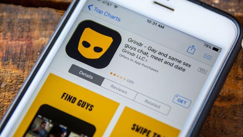 BuzzFeed News reported Monday the app Grindr provided the HIV status of its members to analytics companies Apptimize and Localytics, which help optimize apps and sharpen marketing strategies. (Tyler O'neill/Dreamstime/TNS) ** OUTS - ELSENT, FPG, TCN - OUTS **