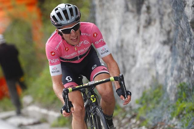 Simon Yates is proving himself by far and away the best climber and most consistent rider at the Giro (AFP Photo/Luk Benies)