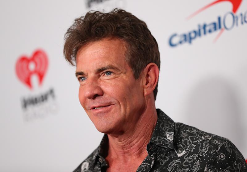 LAS VEGAS, NEVADA - SEPTEMBER 20: Dennis Quaid attends the 2019 iHeartRadio Music Festival at T-Mobile Arena on September 20, 2019 in Las Vegas, Nevada. (Photo by JB Lacroix/WireImage)
