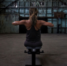 """<p>""""Many of us get stuck in our fitness routines and do the same circuits over and over each week,"""" Halle wrote on <a href=""""https://www.instagram.com/p/BmTjHOqAOXh/"""" rel=""""nofollow noopener"""" target=""""_blank"""" data-ylk=""""slk:Instagram"""" class=""""link rapid-noclick-resp"""">Instagram</a>. """"We do the same exercises for legs, the same for upper body, the same for abs and so on and then we wonder why we don't see any real change in our body. Well, here is the answer. You have to shock your system and offer your body new exercises that it can respond to.""""</p>"""
