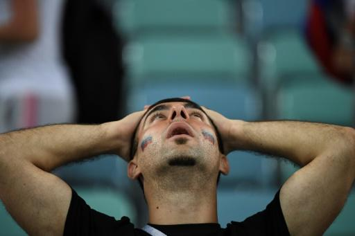 Russian fans began to believe their team could continue proving the sceptics wrong and make the final of their home World Cup
