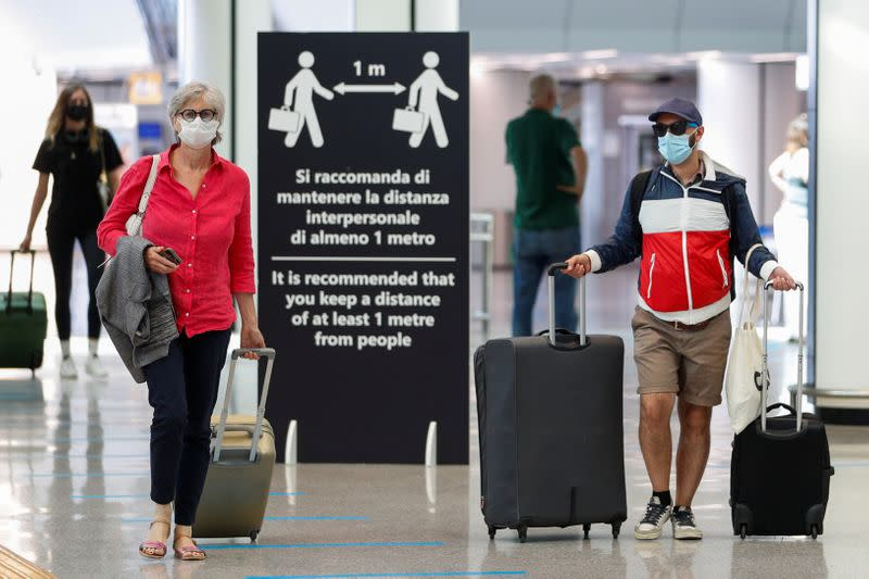 EU travellers could avoid quarantine under plans for COVID-19 testing regime: The Telegraph