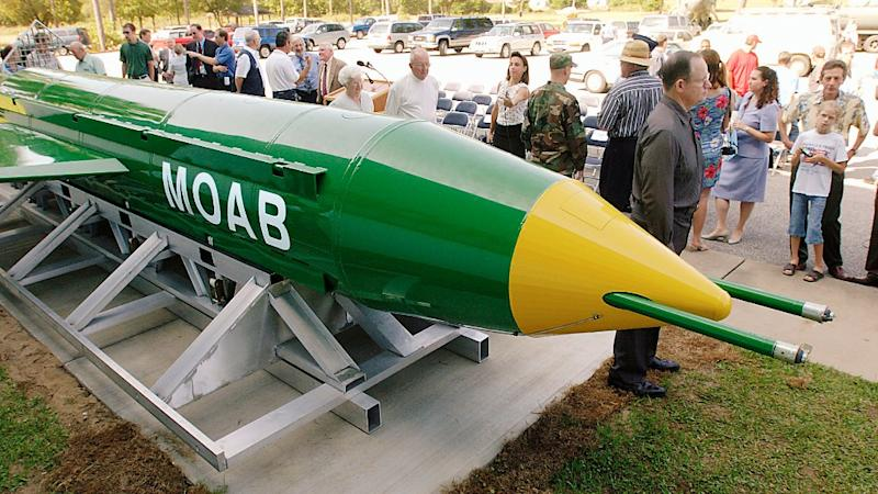 No Info on Death of Indians in US' MOAB Attack, Says Govt
