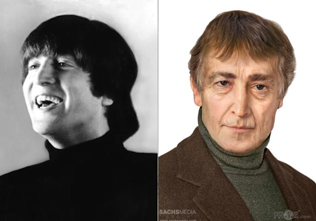 See What John Lennon Would Look Like At 73 Hint Kind Of A College Professor