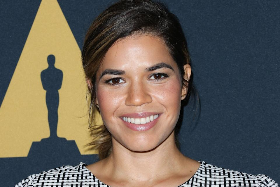 America Ferrera has announced that she is expecting her first child with husband Ryan Piers Williams. (Paul Archuleta via Getty Images)