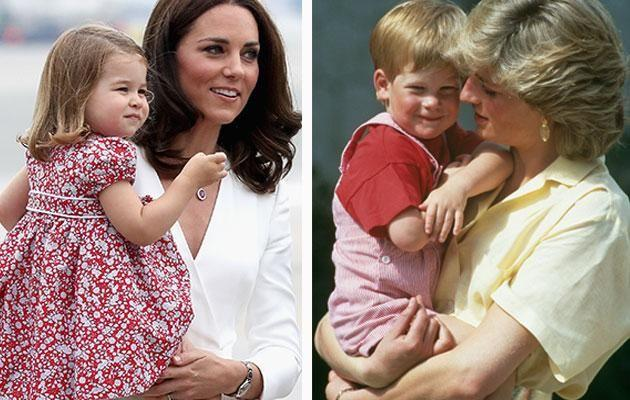 Can Kate live up to Diana's legacy? Photo: Getty