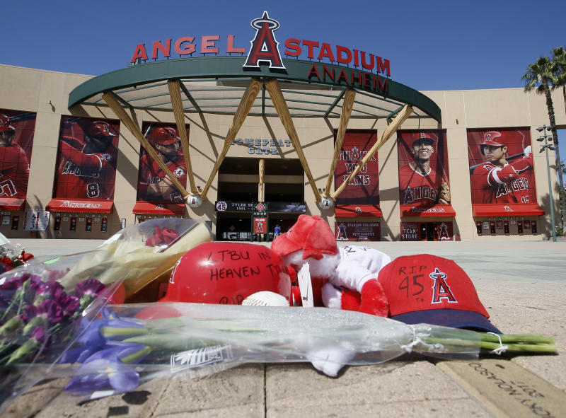 Former Angels employee charged in overdose death of pitcher Tyler Skaggs