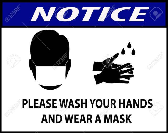 It is necessary to handle inanimate objects with care and wash hands after handling them