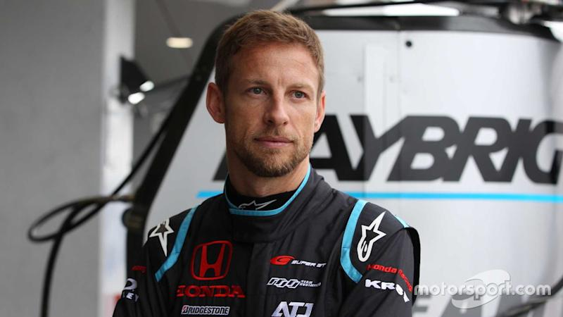 Jenson Button Super GT at Fuji 2018