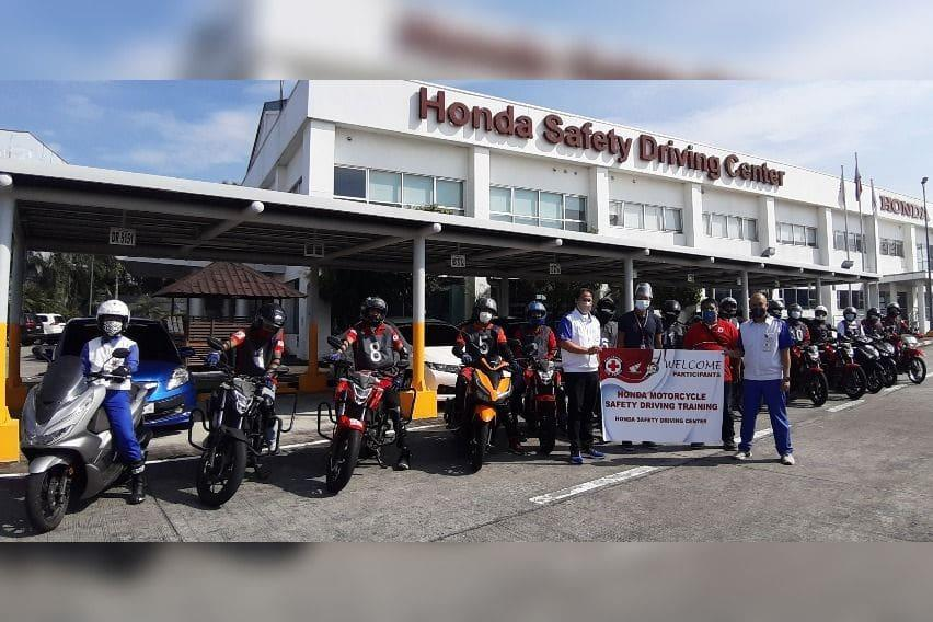Philippine Red Cross drivers at HSDC