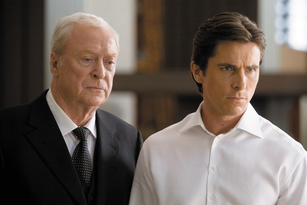 "<a href=""http://movies.yahoo.com/movie/contributor/1800014833"">Michael Caine</a> and <a href=""http://movies.yahoo.com/movie/contributor/1800018597"">Christian Bale</a> in Warner Bros. Pictures' <a href=""http://movies.yahoo.com/movie/1809271891/info"">The Dark Knight</a> - 2008"