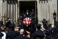 Funeral Mass held for officer Eric Talley in Denver