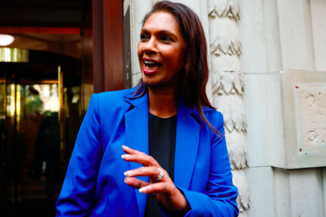 Businesswoman Gina Miller continued to be the thorn in the side of Brexiteers, while also playing a role in Boris Johnson's decision to prorogue Parliament being deemed unlawful. With Brexit certain to happen next year, will Ms Miller still be at the forefront of any attempts to hinder the process? (Getty)
