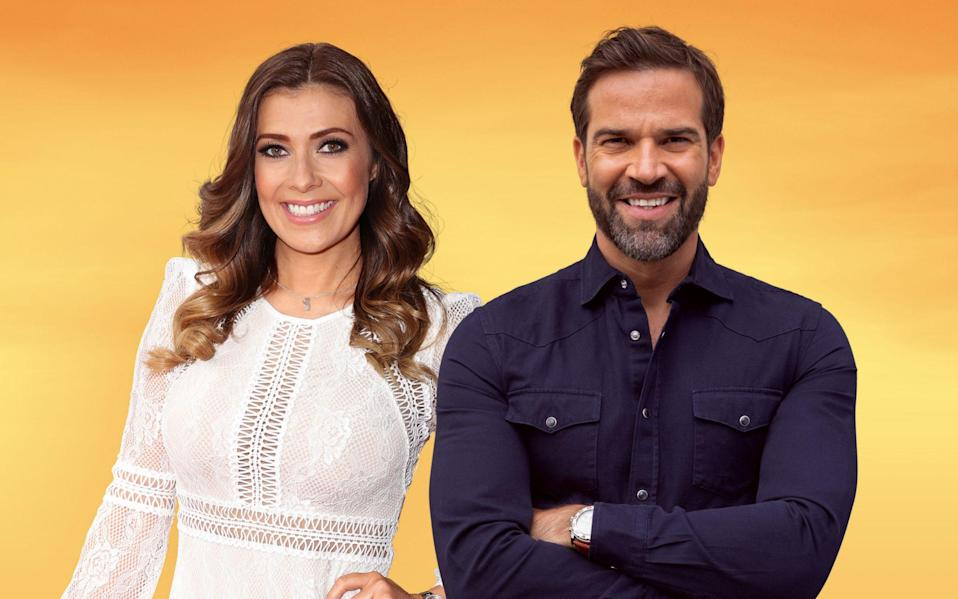 Kym Marsh and Gethin Jones are the UK's latest his 'n' hers, sofa-bound chat show duo - BBC