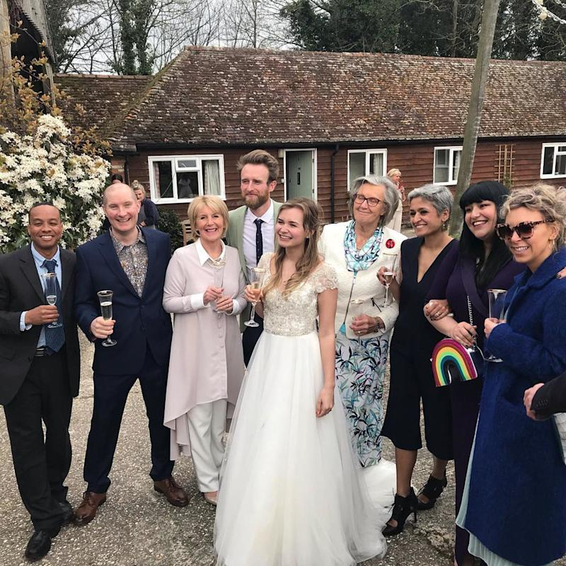 Great British Baking Show contestants had a mini reunion over the weekend for a fellow baker's wedding