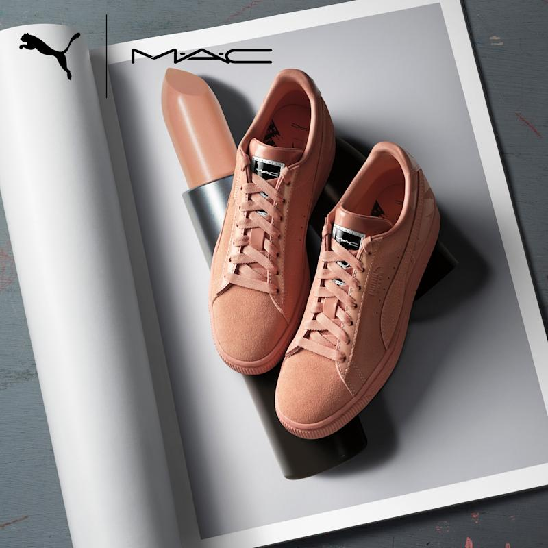 Puma Debuts New Line of Suede Sneakers Inspired by M.A.C.'s