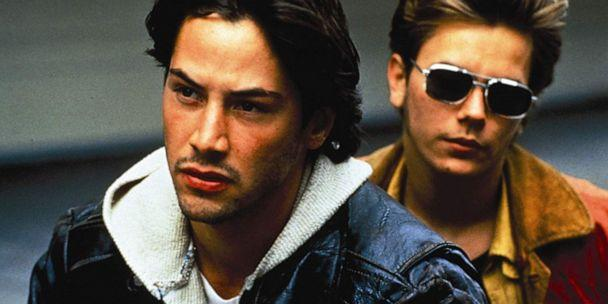 PHOTO: Keanu Reeves (left) and River Phoenix are shown in a scene from My Own Private Idaho. (Fine Line Features)
