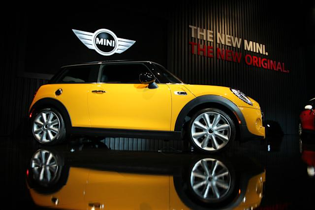 """Admittedly""""Mini Cooper"""" sounds much more endearing with a French accent. (David McNew via Getty Images)"""