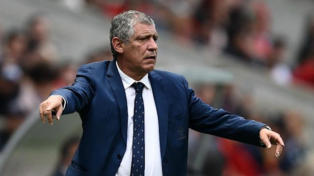 The Portugal manager has been quick to play down his side's chances at next year's tournament