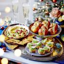 """<p>If you can't get fresh crab meat, tinned works, too, just drain it thoroughly. For a vegetarian version, swap the crab for mashed hard-boiled eggs.</p><p><strong>Recipe: <a href=""""https://www.goodhousekeeping.com/uk/christmas/christmas-recipes/a34668358/mini-chilli-crab-doughnuts/"""" rel=""""nofollow noopener"""" target=""""_blank"""" data-ylk=""""slk:Mini Chilli and Crab Doughnuts"""" class=""""link rapid-noclick-resp"""">Mini Chilli and Crab Doughnuts</a></strong></p>"""