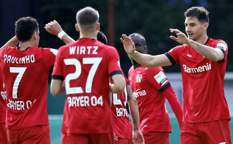 Leverkusen beat minnows to book place in German Cup final