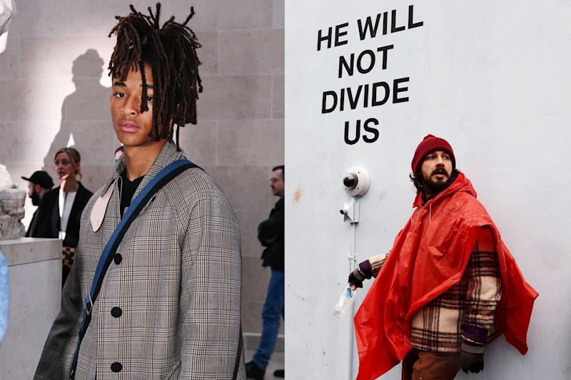 Shia LaBeouf's Unofficial Spokesman Jaden Smith Gives Update on Anti-Trump Protest