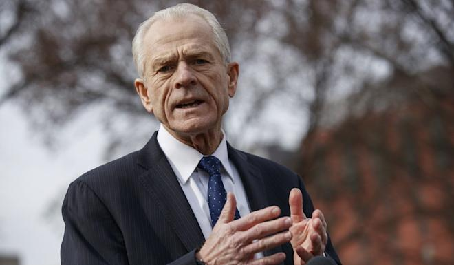 """Peter Navarro says handing the Wipo reins to a Chinese representative """"would be a terrible mistake"""". Photo: EPA-EFE"""