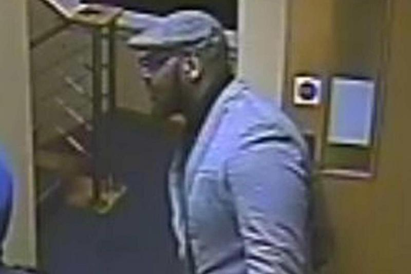 Knife attack: Police want to speak to this man after the stabbing (Metropolitan Police)