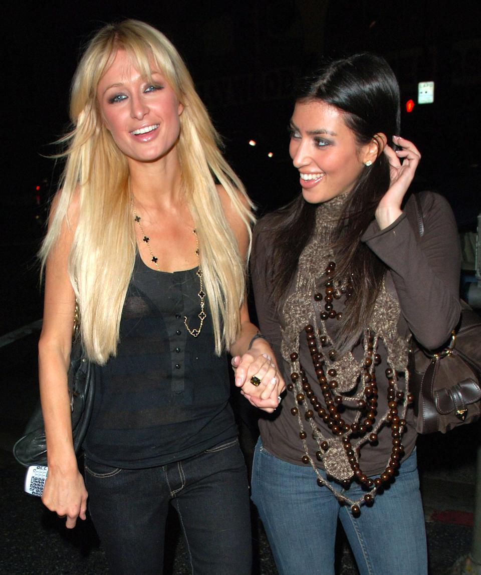 Kim Kardashian is giving Paris Hilton credit for her success. (Photo: Getty Images)