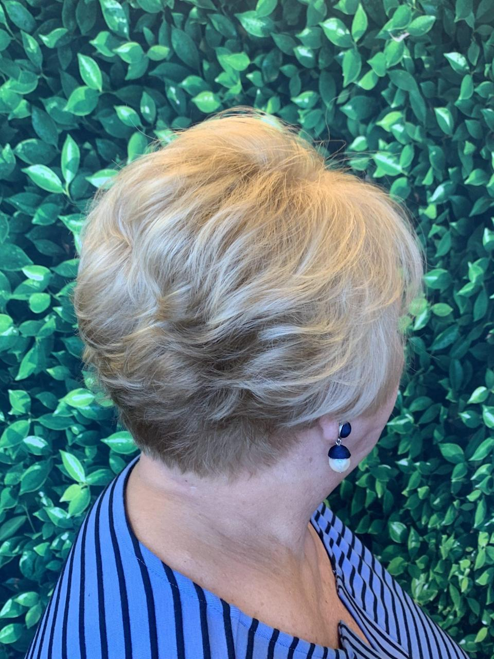 """<p>""""Adding texture to any short cut will allow for versatility when styling for any different occasion,"""" Janna Wright, a stylist at Hair Perfect in Short Pump, Virginia, says. Plus, who doesn't love the fun nature of a pixie cut?</p>"""