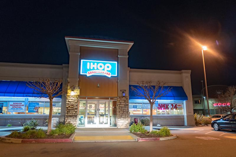 Customers at a North Carolina IHOP became angry after finding out their refills of orange juice were not free. (Photo by Smith Collection/Gado/Getty Images)