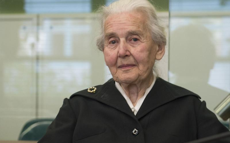 Haverbeck, known as the 'Nazi-Grandma', insisted that the Holocaust and murder of Jews at Auschwitz concentration camp in Poland are not
