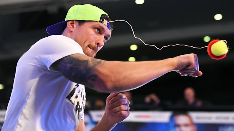 Usyk ready to fulfil a dream with Bellew bout