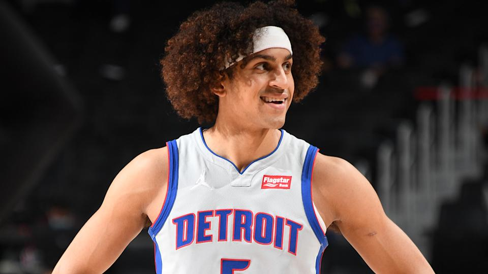 Frank Jackson could be a useful scoring option as his minutes increase for the Detroit Pistons in the latter stages of the season. (Photo by Chris Schwegler/NBAE via Getty Images)