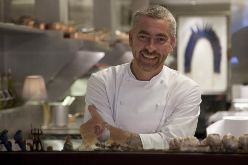 This 2010 photo released by Lotus PR shows Brazilian chef Alex Atala in Sao Paulo, Brazil. Brazil's number one chef is a man on a mission. Atala, whose Sao Paulo-based D.O.M. is among the top-ranked restaurants in the world, is out to transform the lackluster reputation of Brazilian cuisine, not only abroad but also at home. (AP Photo/Cassio Vasconcellos, Lotus PR)