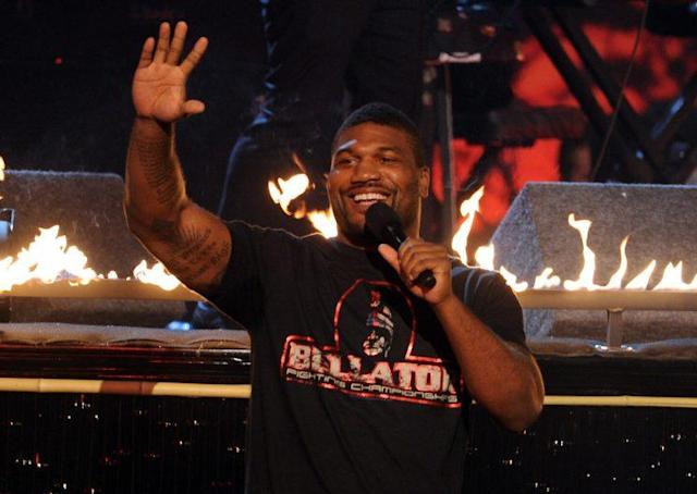 "Quinton ""Rampage"" Jackson has won five straight fights and is 37-11 in his pro career. (Getty)"