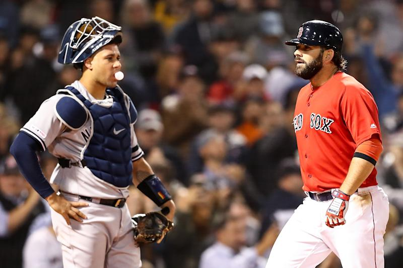 The Yankees and Red Sox are always a rivalry to circle on the calendar. (Photo by Adam Glanzman/Getty Images)
