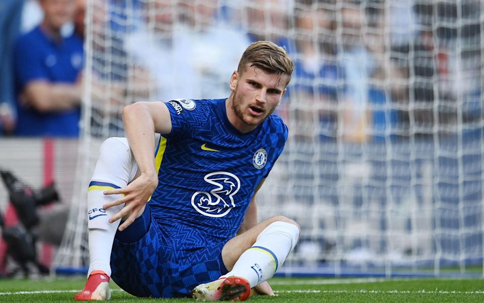 Werner has only started two games this season, one in the Premier League and one in the Carabao Cup - Shutterstock
