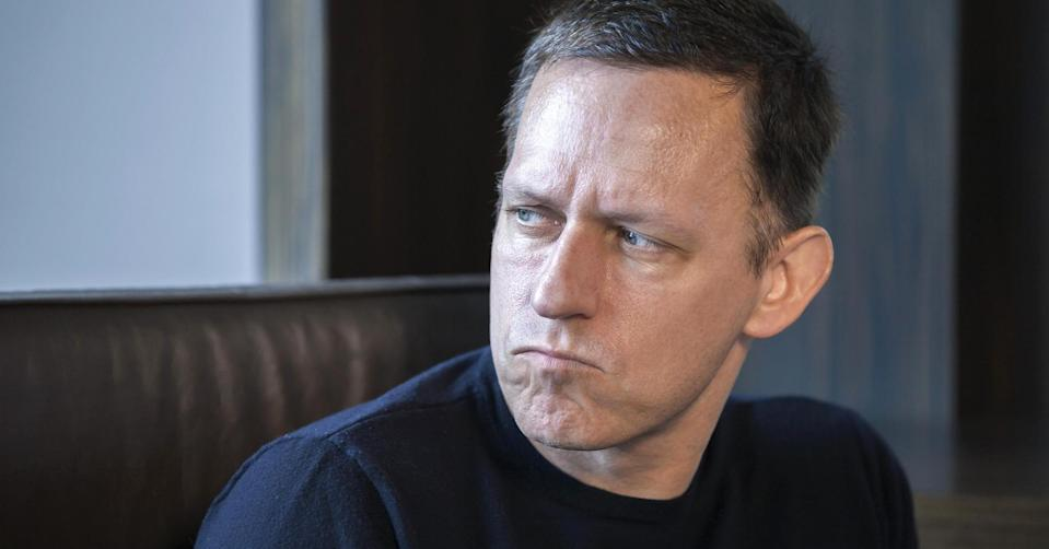 Tech insiders are cautiously optimistic billionaire tech investor Peter Thiel can help steer President-elect trump in the right direction. Source: Kim Kulish | Corbis | Getty Images