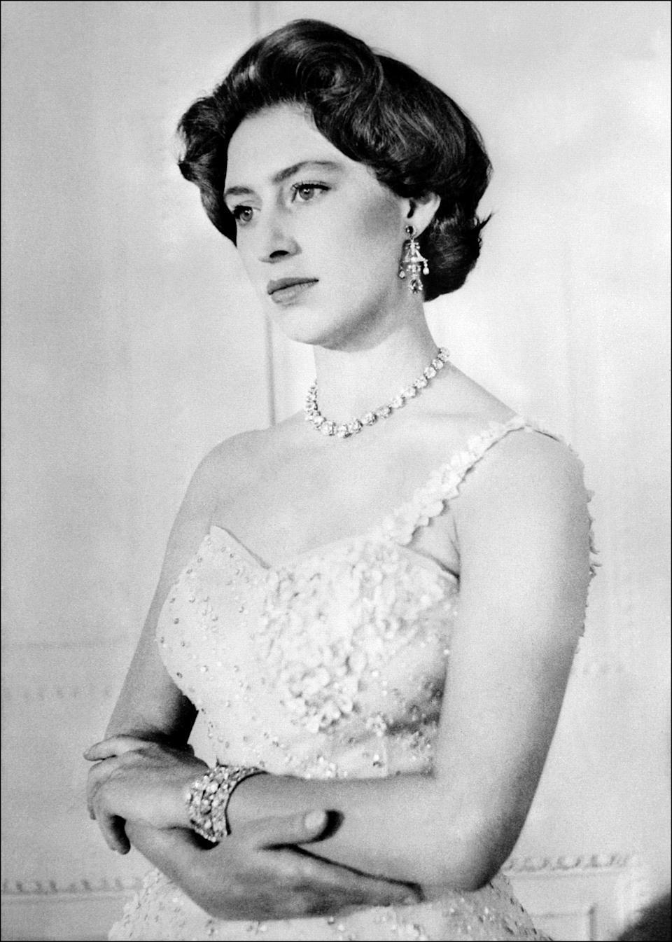 "<p>Princess Margaret, also known as the Countess of Snowdon, was Queen Elizabeth II's younger and only sibling. She was known as one of the royal family's most vivacious characters, and fans are learning more about her thanks to <a href=""https://www.oprahmag.com/entertainment/tv-movies/a28521636/the-crown-season-3-netflix-release-date-trailer-cast-news/"" rel=""nofollow noopener"" target=""_blank"" data-ylk=""slk:Netflix's The Crown"" class=""link rapid-noclick-resp"">Netflix's <em>The Crown</em></a>. If you remember, in seasons 1 and 2, Vanessa Kirby portrayed her, and now, BAFTA award-winning actress Helena Bonham Carter has replaced Kirby in seasons 3 and 4. <a href=""https://www.oprahmag.com/entertainment/tv-movies/a30728358/the-crown-season-5-cast-release-date-photos-news/"" rel=""nofollow noopener"" target=""_blank"" data-ylk=""slk:In season 5"" class=""link rapid-noclick-resp"">In season 5</a>, <a href=""https://twitter.com/TheCrownNetflix/status/1278599466845704192?ref_src=twsrc%5Etfw%7Ctwcamp%5Etweetembed%7Ctwterm%5E1278599466845704192%7Ctwgr%5E&ref_url=https%3A%2F%2Fwww.oprahmag.com%2Fentertainment%2Ftv-movies%2Fa30728358%2Fthe-crown-season-5-cast-release-date-photos-news%2F"" rel=""nofollow noopener"" target=""_blank"" data-ylk=""slk:Netflix has cast Lesley Manville"" class=""link rapid-noclick-resp"">Netflix has cast Lesley Manville</a> to carry on the baton as Princess Margaret. <br></p><p>After World War II, in 1952, Margaret fell in love with Group Captain Peter Townsend—a Royal Air Force officer 16 years her senior—but the Church of England refused to support her marriage to a divorced man. Eventually, Margaret moved on and in 1960, she married the photographer Anthony Armstrong-Jones. <a href=""http://www.oprahmag.com/entertainment/tv-movies/a29801483/princess-margaret-children/"" rel=""nofollow noopener"" target=""_blank"" data-ylk=""slk:They had two children together, David and Sarah"" class=""link rapid-noclick-resp"">They had two children together, David and Sarah</a>. Margaret and Armstrong-Jones divorced in 1978 after a tumultuous marriage—<em>and </em>after the tabloids published photos of her on vacation with Roddy Llewellyn, a gardener 17 years younger than her. Later in life, Margaret's health started declining. She had a lung operation in 1985, pneumonia in 1993, and at least three strokes between 1998 and 2001. She passed away on February 9, 2002. In honor of her life, here are some photos of Princess Margaret through the years. </p>"