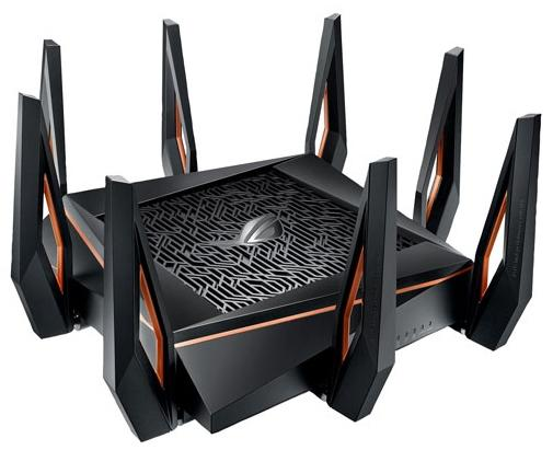 ASUS ROG Gaming Wireless AX11000 Tri-Band Wi-Fi 6 Router. (Image via Best Buy)