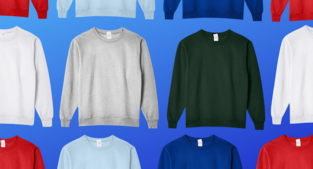 This men's sweatshirt has over 97,000 reviews on Amazon — and it's only $12