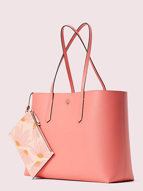 Molly Falling Flower Pop Large Tote. Image via Kate Spade.
