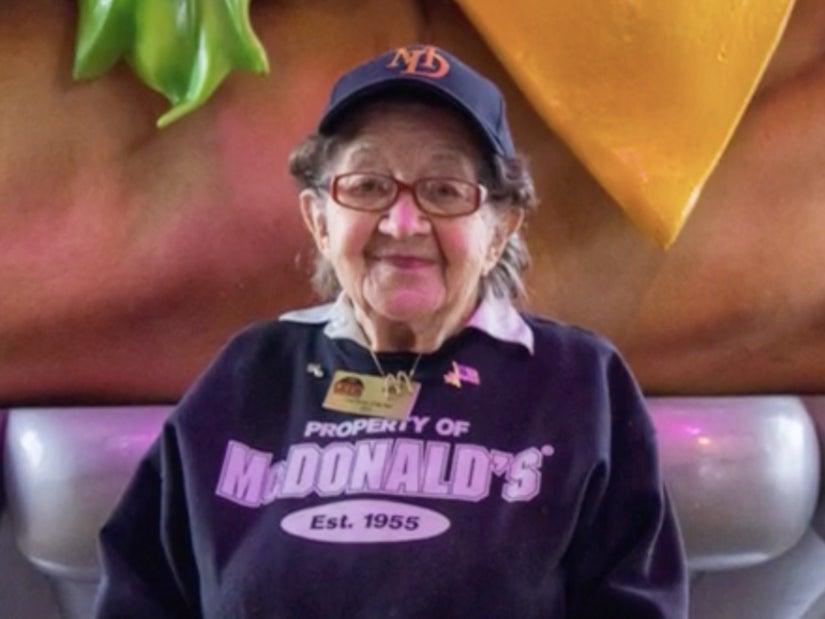 <p>Ruth Shuster celebrated her 100th birthday with her McDonalds colleagues with wishes pouring in from her customers and even Ronald McDonald </p> (Screengrab/Video)
