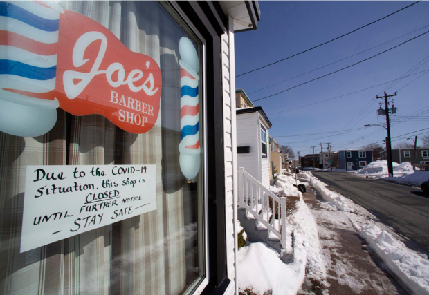 Barber shops and salons were among the businesses ordered to close — twice — under N.L.'s public health emergency legislation.